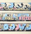Henry Chalfant Lee Kell Futura Dondi artwork screen print oeuvre art serigraphie detail 1