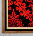 Obey Parlor Pattern screen print shepard fairey graffiti street art urbain serigraphie obey giant 3-2