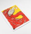 Ella-Pitr-serigraphie-oeuvre-OISEAUX-DE-PRINTEMPS-jaune-art