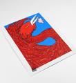Ella-Pitr-serigraphie-oeuvre-OISEAUX-DE-PRINTEMPS-BLEU-art