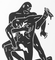 Cleon Peterson Evil oeuvre serigraphie print artiste edition limitee signee numerotee