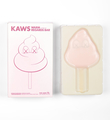 Kaws Brian Donnelly Warm regards bar pink rose Medicom toy box detail 1