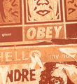 Shepard Fairey Obey Hello scuzz grumpy screen print serigraphie signed numbered art gallery sell buy art_2