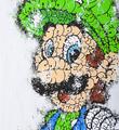 Tilt Luigi giclee print artwork impression oeuvre detail