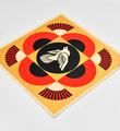Shepard-Fairey-OBEY-Dove-Geometric-Set-Gold