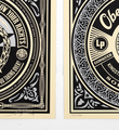 Shepard Fairey Obey 50 shades of black set 4 screen print serigraphie signed numbered limited edition sold art online gallery sell buy art_4