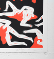 cleon peterson victory set gold red screen prints artworks oeuvres serigraphies 2016 edition 150 signed signature