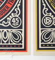 Shepard Fairey Obey Giant By any means necessary set screen print artwork serigraphie oeuvre art 2007 limited edition 300 number