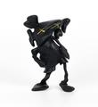 Kaws Brian Donnelly Robert Lazzarini companion black version limited edition art toys figurine medicom toys 2010