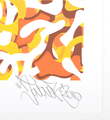 Jonone Follow the sun screenprint artwork oeuvre serigraphie John Andrew Perello graffiti Jon156 signature 2010_2