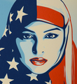 Shepard Fairey Obey Giant Greater than fear artwork screen print oeuvre art serigraphie 2017 limited edtion 450 detail