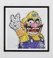 tilt wario print graffiti street art urbain wall artwork sold art