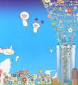 Takashi-Murakami-Planet-66-Yoshiko-Creatures-Planet-66-Roppongi-Hills-Poster-2004-Offset-lithograph-2