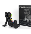 Kaws Brian Donnelly companion resting place black version limited edition art toys figurine medicom toys 2013 box