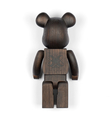 Kaws Original Fake Nexus 7 karimoku-400-wooden-bearbrick 2007 edition 400 sculpture art back