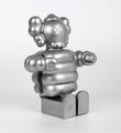KAWS-MEDICOM-Toy-Kubrick-TM-400-Mad-Hectic-Rare-Silver-2003-3