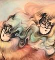 Miss-Van-Twin-Rainbow-Hair-print-signed-art-edition-3