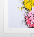 Tilt Peach giclee print artwork impression oeuvre edition 100 numbered