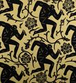 Obey_shepard_fairey_Cleon_Peterson_serigraphie_print_pattern of corruption black gold set_miami_graffiti street art urbain serigraphie obey giant soldart sold art gallery 6