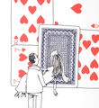 Dran House of cards screen print serigraphie artwork oeuvre pow limited edition buy sell art online_3
