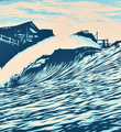 SHEPARD-FAIREY-OBEY-GIANT-POP-WAVE-BLUE-SIGNED-PRINT-RARE-3