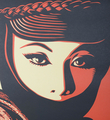 shepard-fairey-obey-giant-mujer fatale-offset-print-art-artwork-collection-oeuvre detail 1