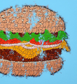 tilt big tas print burger graffiti throw up street art urbain wall artwork sold art 3