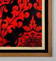 Obey Parlor Pattern screen print shepard fairey graffiti street art urbain serigraphie obey giant 1-3