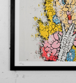 tilt peach princesse print graffiti street art urbain wall artwork sold art 2