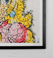 tilt peach princesse print graffiti street art urbain wall artwork sold art