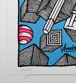 Andre_Saraiva_andre et anabelle_screen print_serigraphie_art_pink_blue_violet_le baron paris_monsieur A Mr A sold art urbain galerie soldart 2