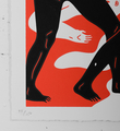 Cleon Peterson Burning The Dead red rouge artwork screen print serigraphie oeuvre art limited edition 150