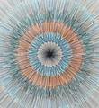 Kai-and-Sunny-Split-circle-screen-print-serigraphie-artwork-oeuvre-art-edition-100-detail