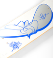 JonOne John Andrew Perello Triiad skateboard decks edition 50 signed numbered 2005 detail 2