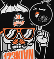 123klan-scien-klor-MISTER CARD MASCOT montreal-graffiti-screen print silkscreen soldart.com buy sell art acheter vendre oeuvre art sold art galerie art urbain en ligne online street art gallery 3