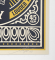 Shepard Fairey Obey Giant By any means necessary set screen print artwork serigraphie oeuvre art 2007 signature signed