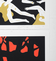 cleon peterson victory set gold red screen prints artworks oeuvres serigraphies 2016 edition 150 signed 2