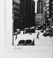 Andre Saraiva le fer a repasser flatiron New York artwork screen print oeuvre serigraphie signed signature