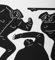 Cleon Peterson Civil rights black noir screen print artwork serigraphie oeuvre detail