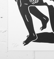 Cleon Peterson Evil artwork screen print artist numbered 150