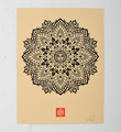 Mandala Ornament 2 cream
