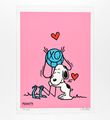 Mr. A Loves Snoopy (pink version)