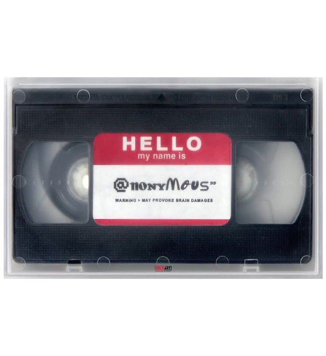 Hello my name is @nonymous DVD