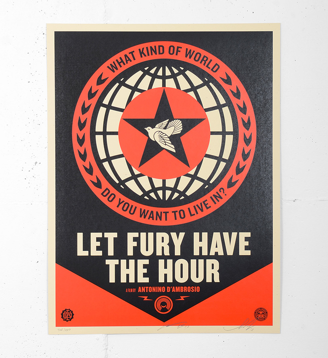 Let fury have the hour - Film Poster