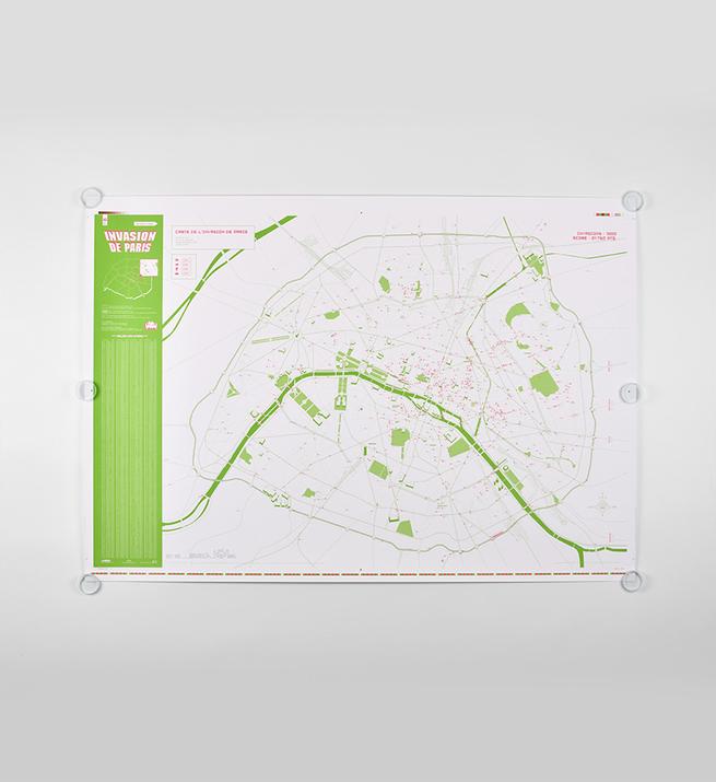 Signed map of Paris V2.0