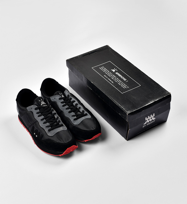 01 Point Sneakers (Version noire)