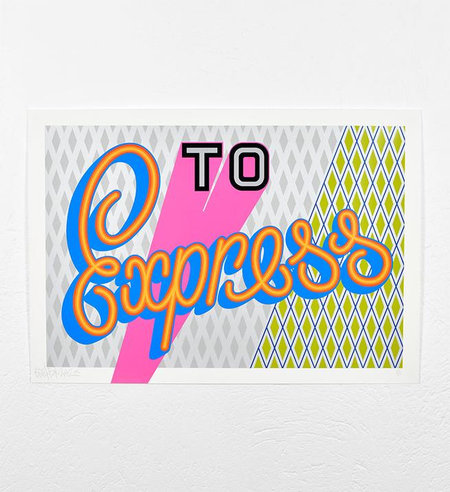 To express (Version argentée)