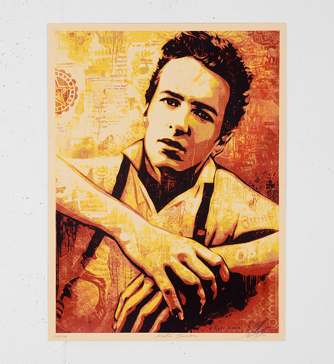 Strummer canvas