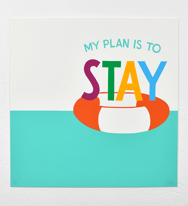 Stay afloat (grand format)
