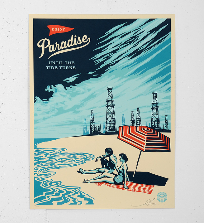 Paradise turns